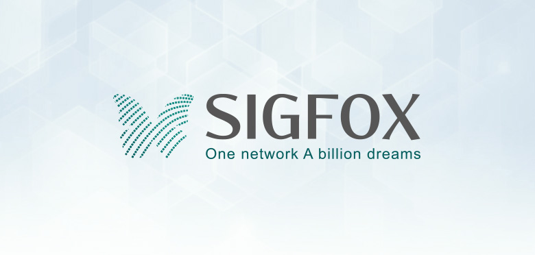 Communication visuelle, création du logotype et charte graphique de la startup Sigfox spécialisée dans l'internet des objets (IoT) - Toulouse