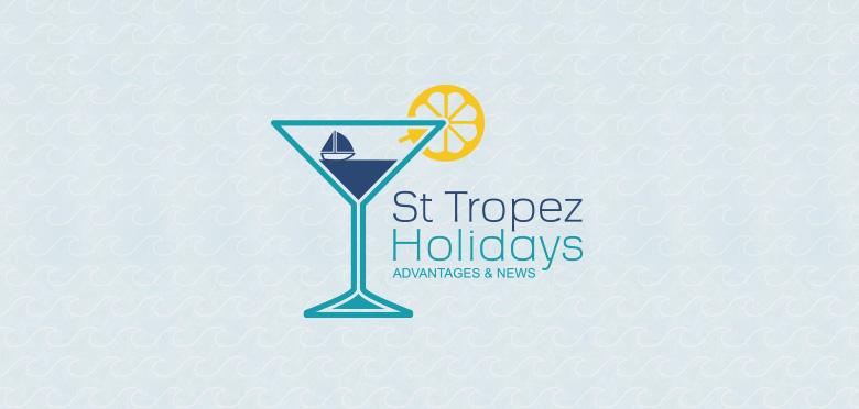 Création de l'identité visuelle du portail e-tourisme St Tropez Holidays
