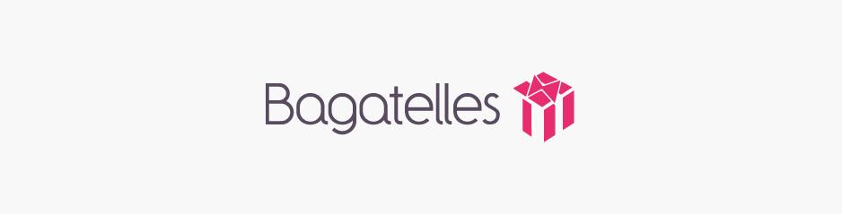 Conception du nouveau logo Bagatelles, boutique e-commerce de cadeaux - Paris, Ile de France