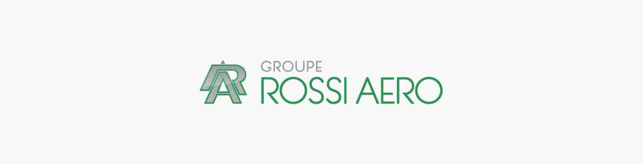 Relooking du logo Groupe Rossi Aero (+ reportage photo en entreprise), aéronautique - Muret / Grenade sur Garonne, Haute-Garonne