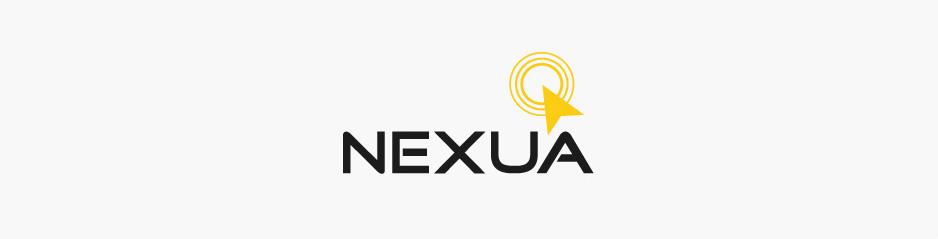 Design du logo & carte de visite Nexua, ingénierie informatique - Toulouse, Midi-Pyrénées