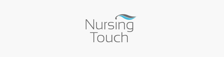 Création du logo & flyers Nursing Touch, santé et médecine - Castres, Tarn