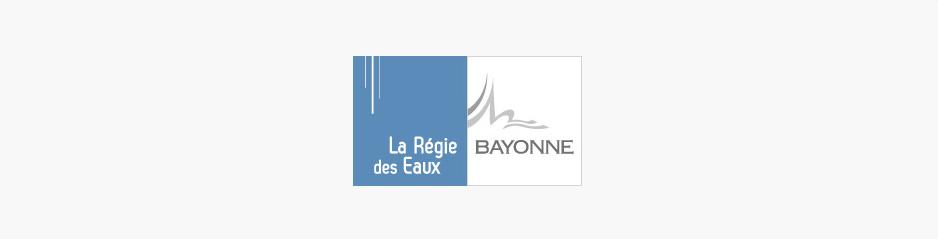 Création du logo, signalétique & design textile Régie des Eaux, services à l'environnement - Bayonne, Pyrénées-Atlantiques