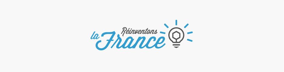 Création du logo RLF, magazine - Perpignan, Pyrénées-Orientales