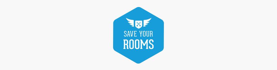 Réalisation du logo, pack d'icônes et identité de marque Save Your Rooms, marketing hôtels et restaurants, consulting tourisme - Toulon, Var