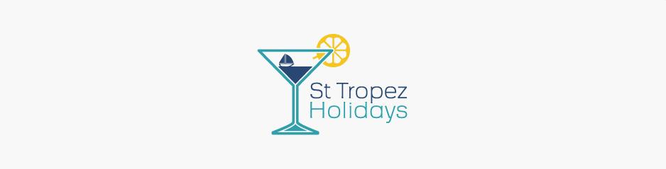 Réalisation du logo & brochure St Tropez Holidays, voyage et tourisme - Saint-Tropez, Provence Alpes Cote d'Azur