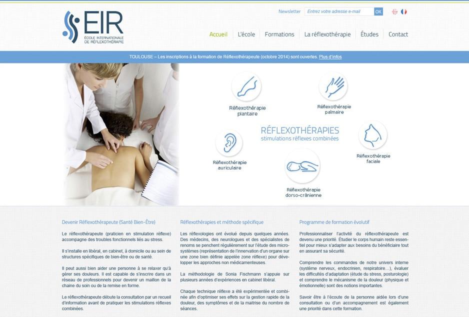 Création du site multilingue de l'école EIR (Marseille / Toulouse / Nantes) avec le CMS open-source WordPress