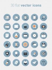 30-icones-flat-long-shadow
