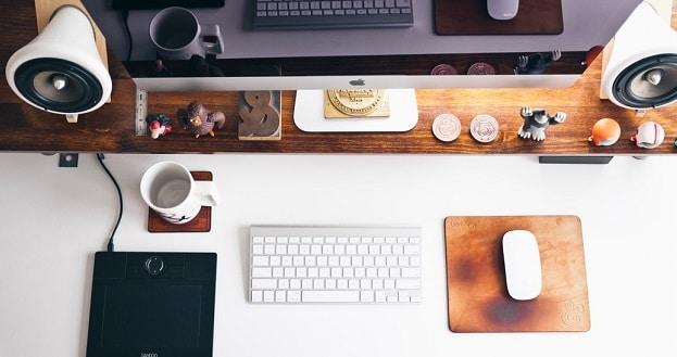 bureau de webdesigner