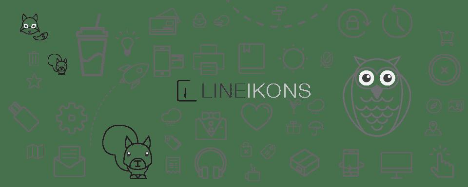 lineikon, icones lineicons