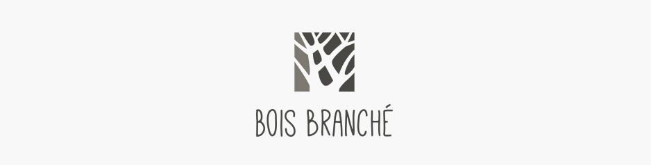Création du logo Bois Branché, meubles et décoration