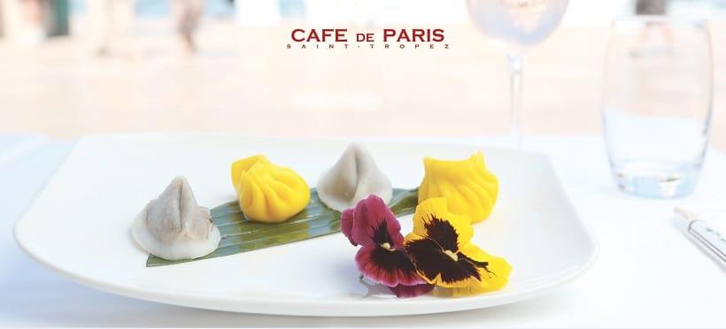 Création du site internet mobile du Café de Paris, bar et brasserie chic