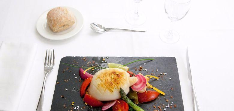 Graphisme, UX design et développement du site internet mobile du restaurant haut de gamme Palladia à Toulouse