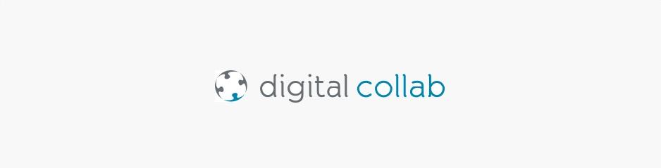 Création du logo Digital Collab, entreprise de conseil et formation RH à Paris & Lille