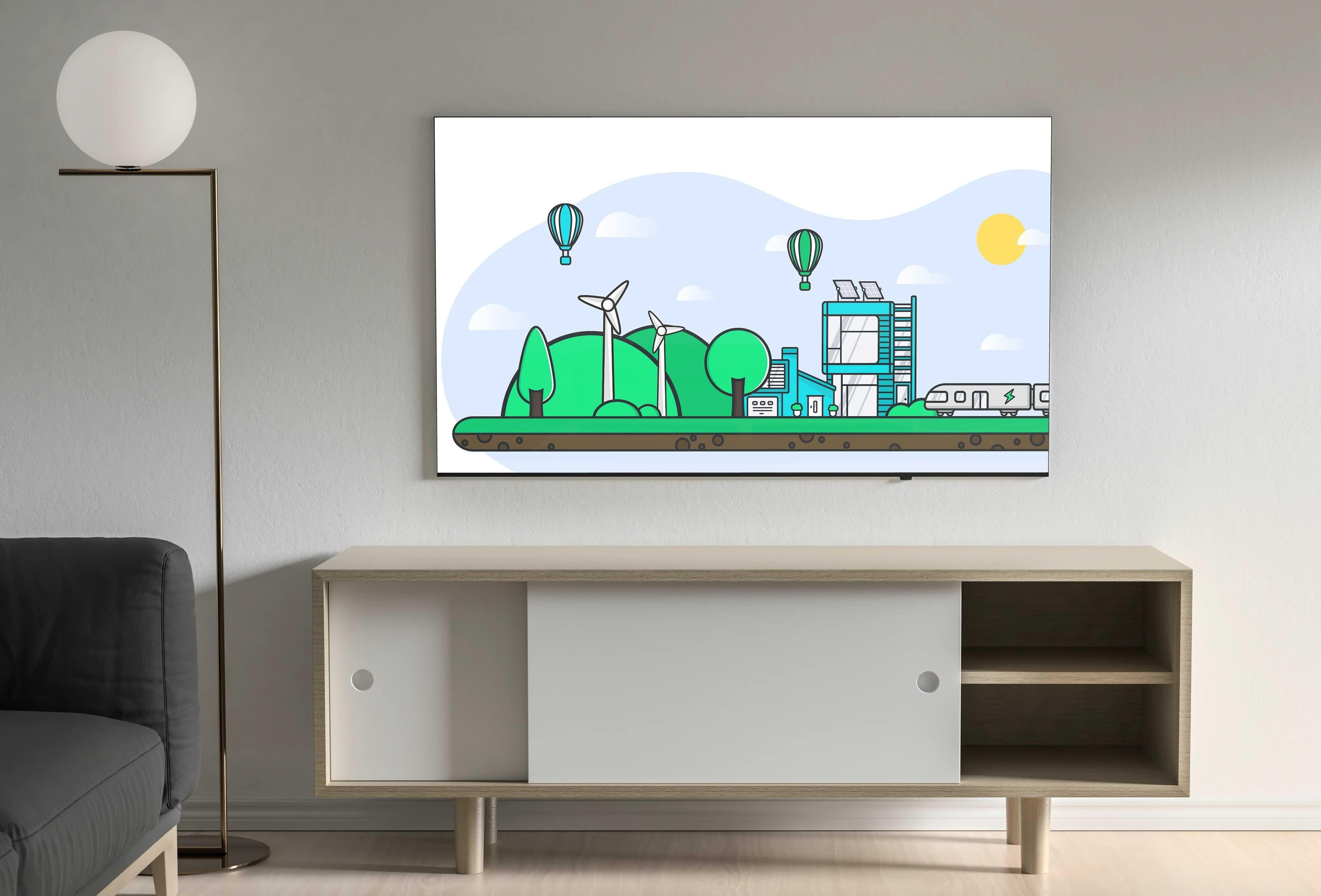 Illustration Smart City, Développement Durable & Ecologie