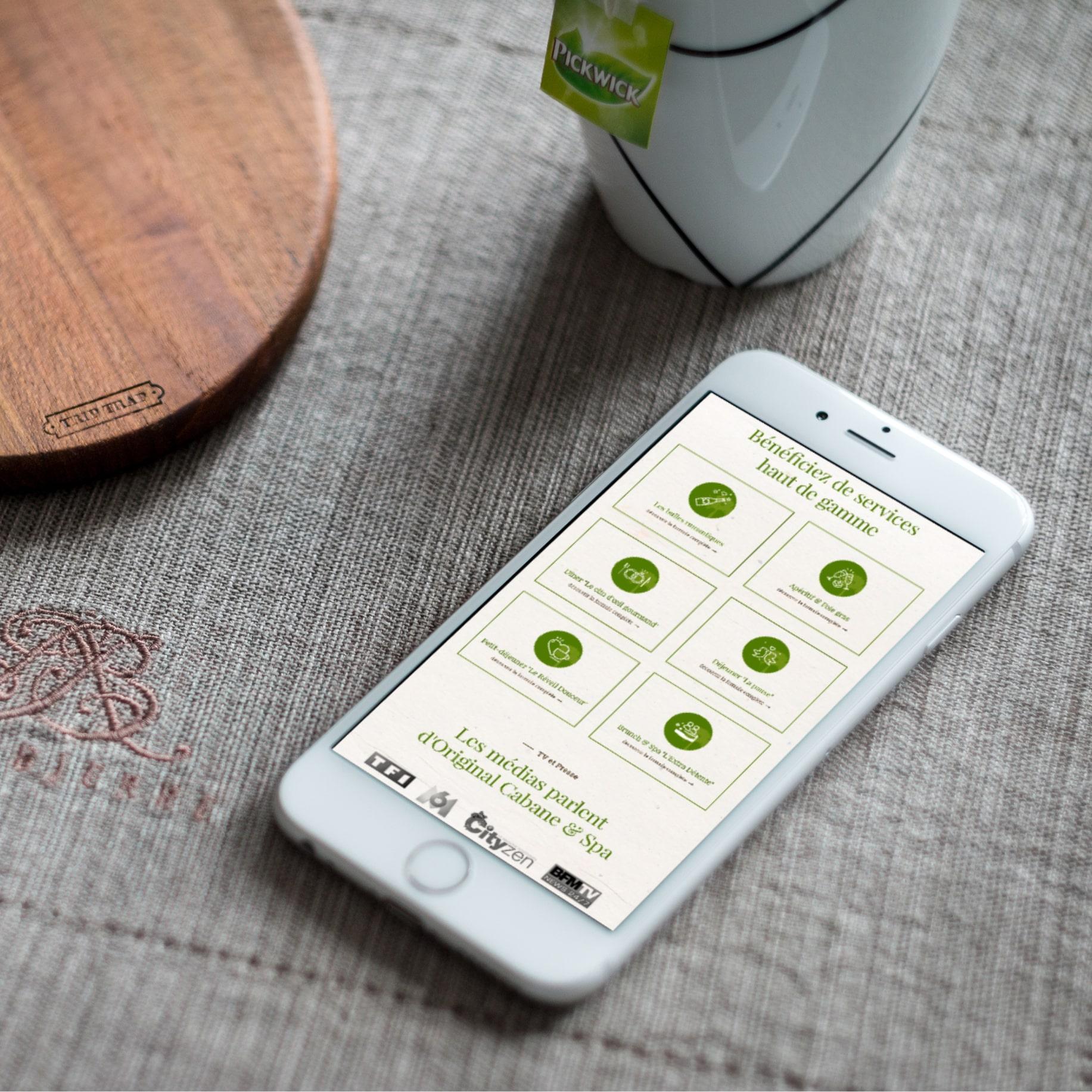 UX, design & développement de logiciel hôtelier / Application web mobile de réservation
