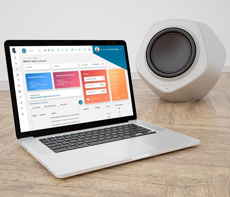 Design d'interfaces & ergonomie pour un CRM Commerce