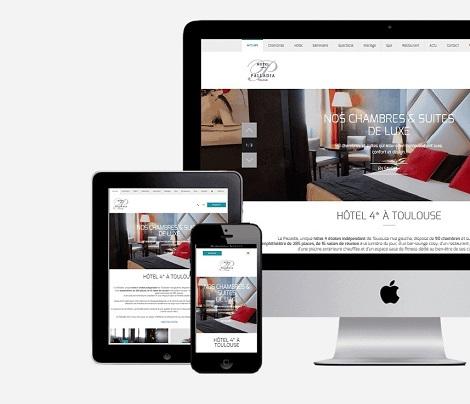 Création site Hôtel Palladia