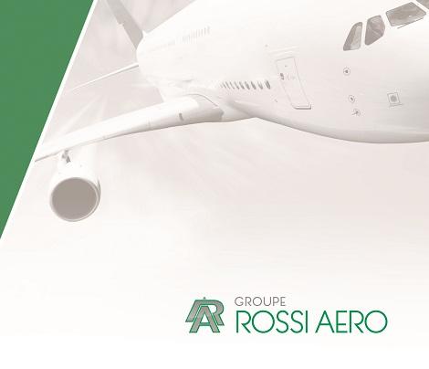 Communication web & print Rossi Aero, entreprise aéronautique toulouse