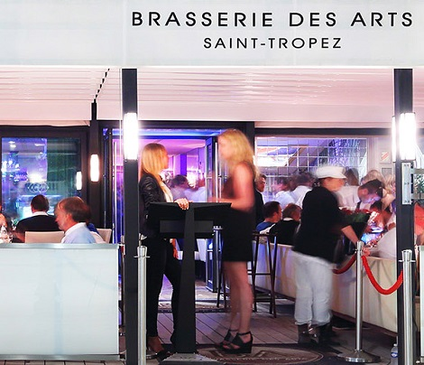 Création site Brasserie des Arts