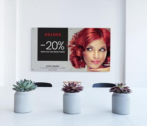 Affiche salon de coiffure