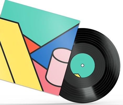Illustration pochette vinyle