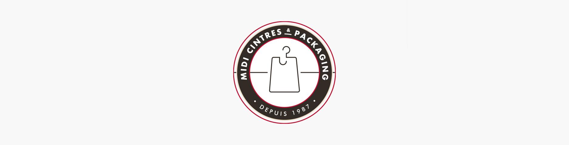 Design du logo Midi Cintres & Packaging - Rabastens