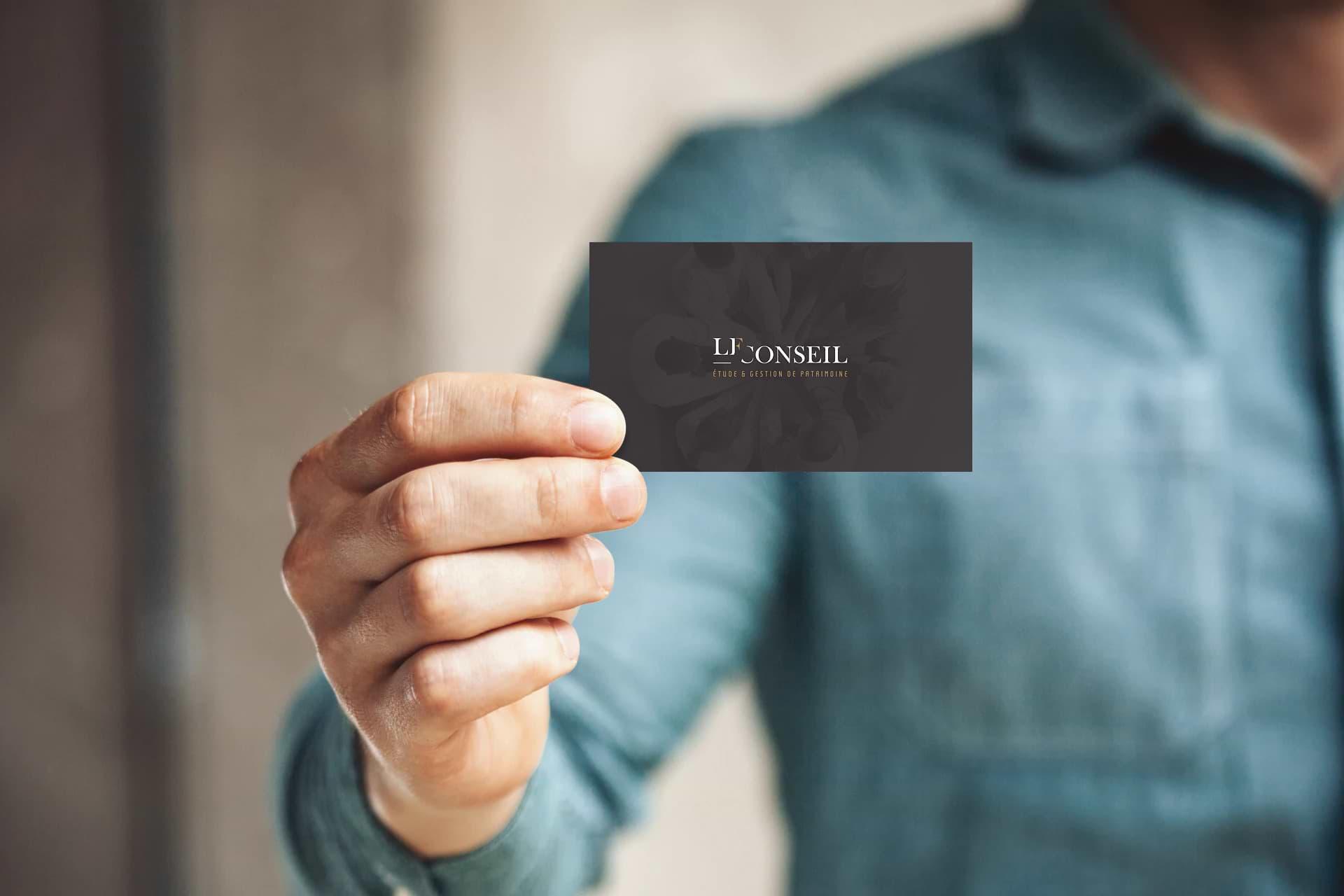 Graphiste print, designer de carte de visite