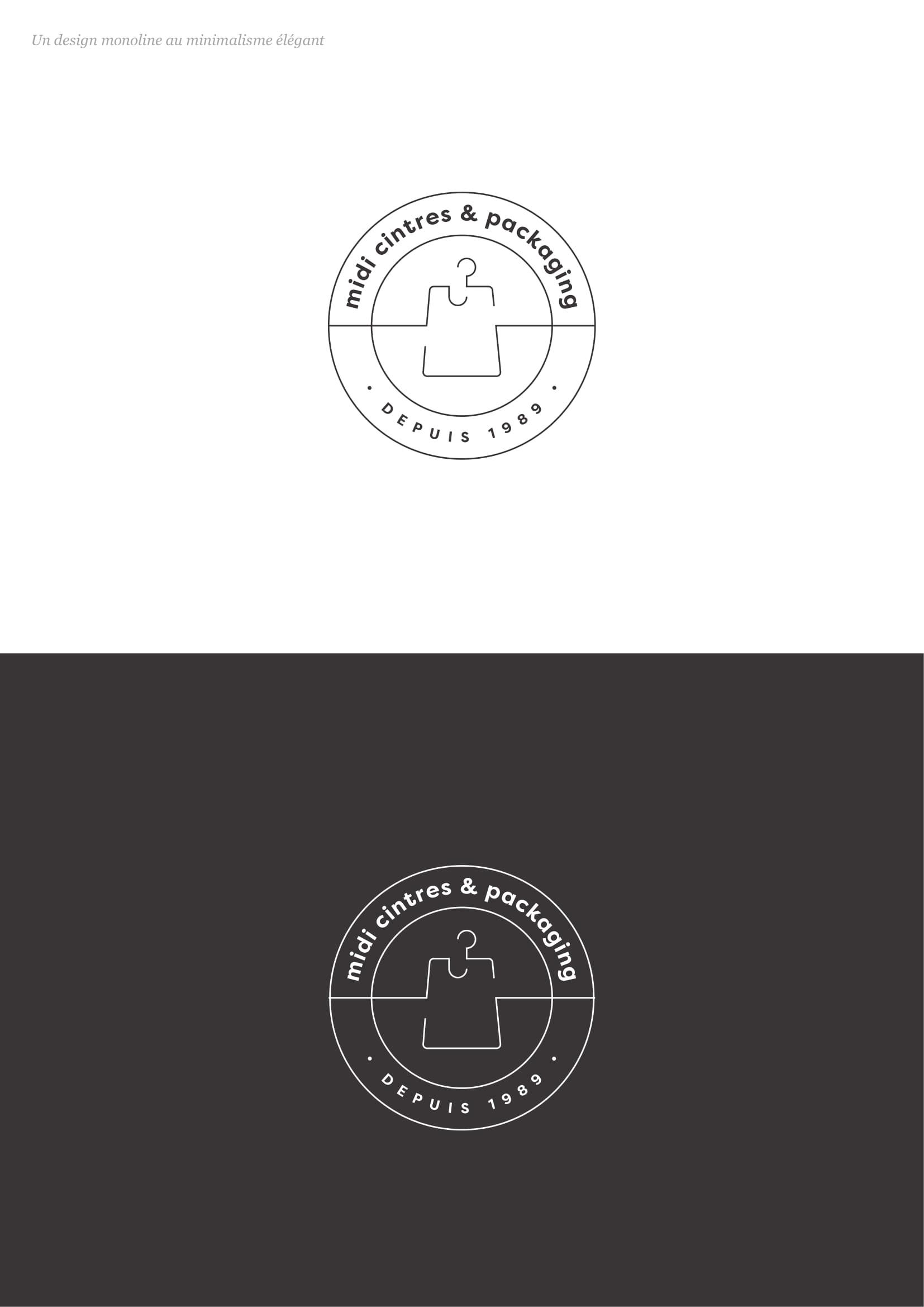 Graphiste logo minimaliste