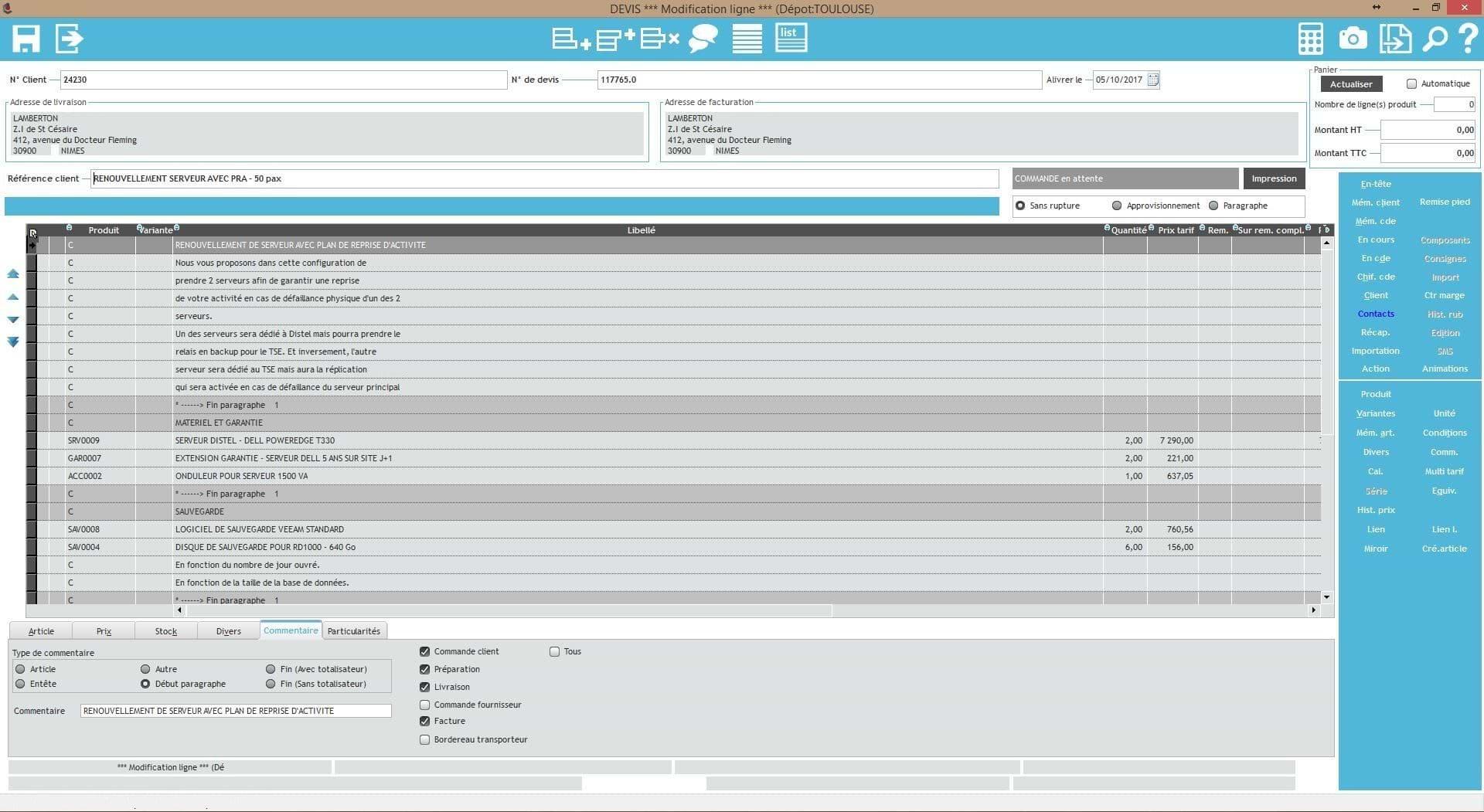 Audit UX logiciel Commerce