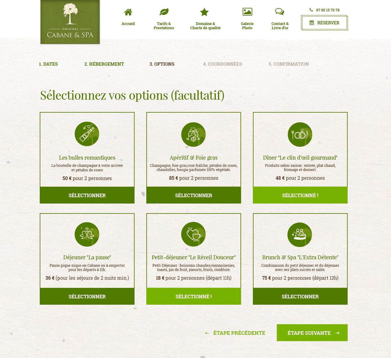 Webdesigner site tourisme, hôtel & restaurant