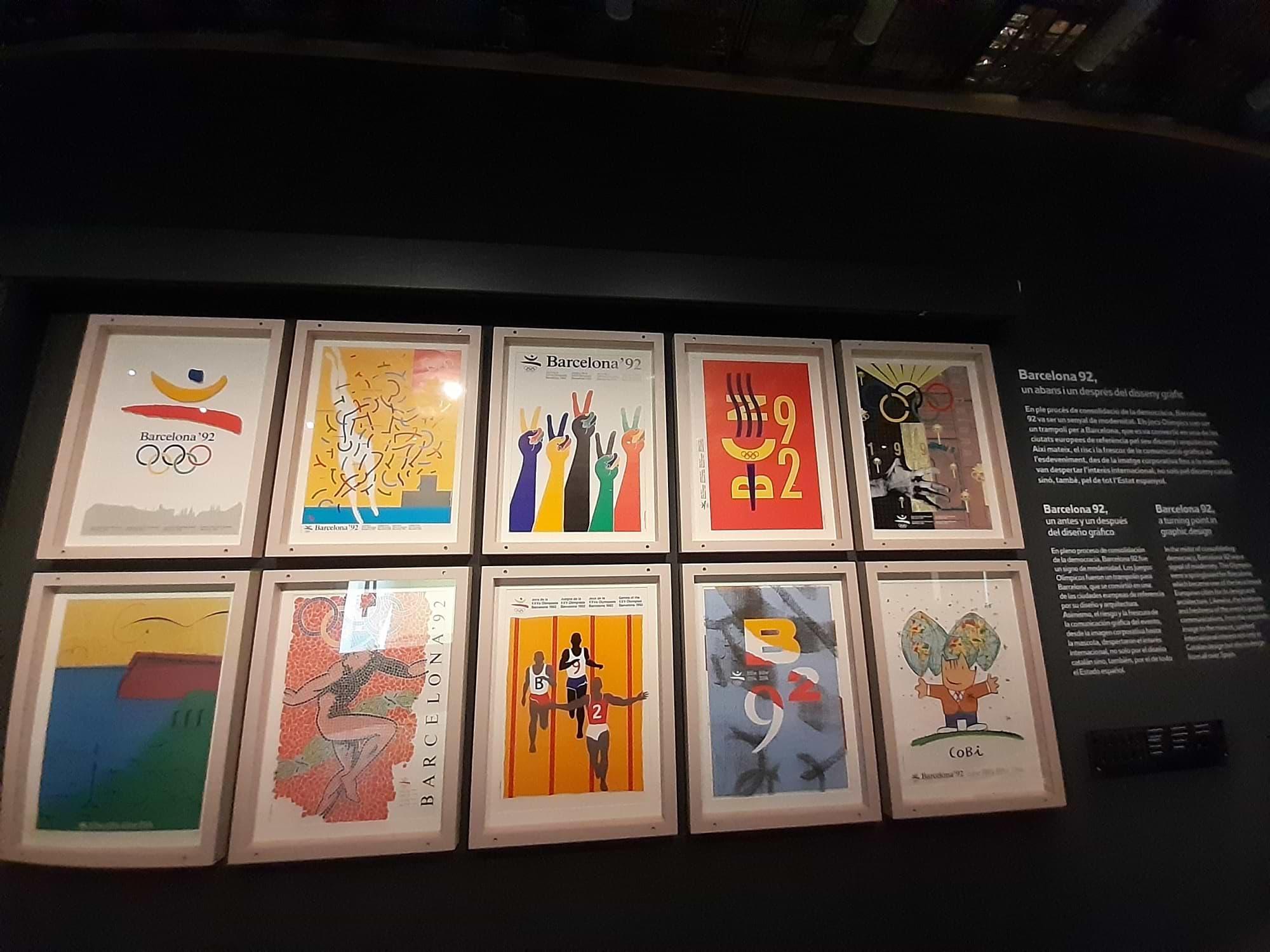 Collection d'affiches Jeux Olympiques de Barcelone 1992