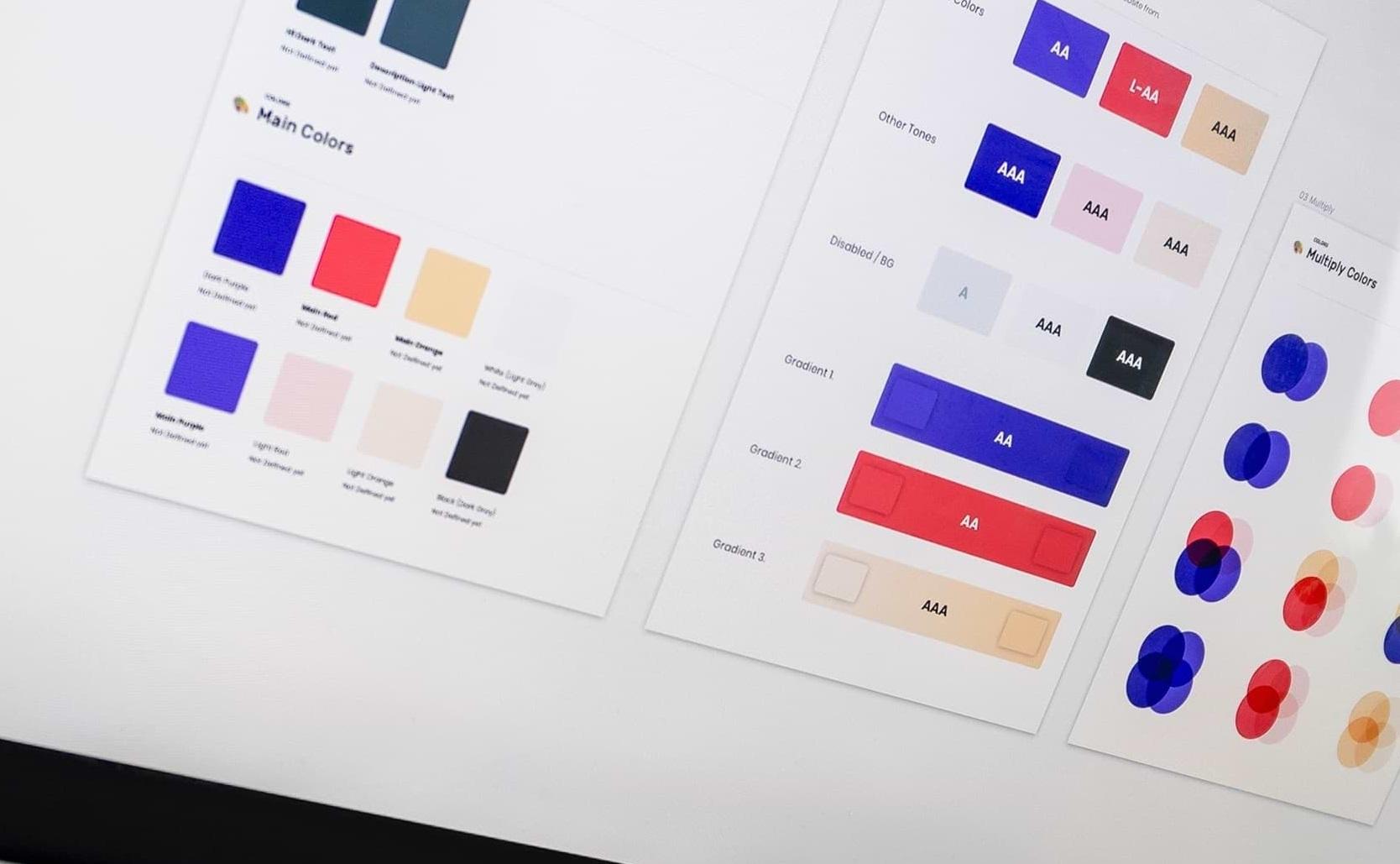 Exemple de Design System