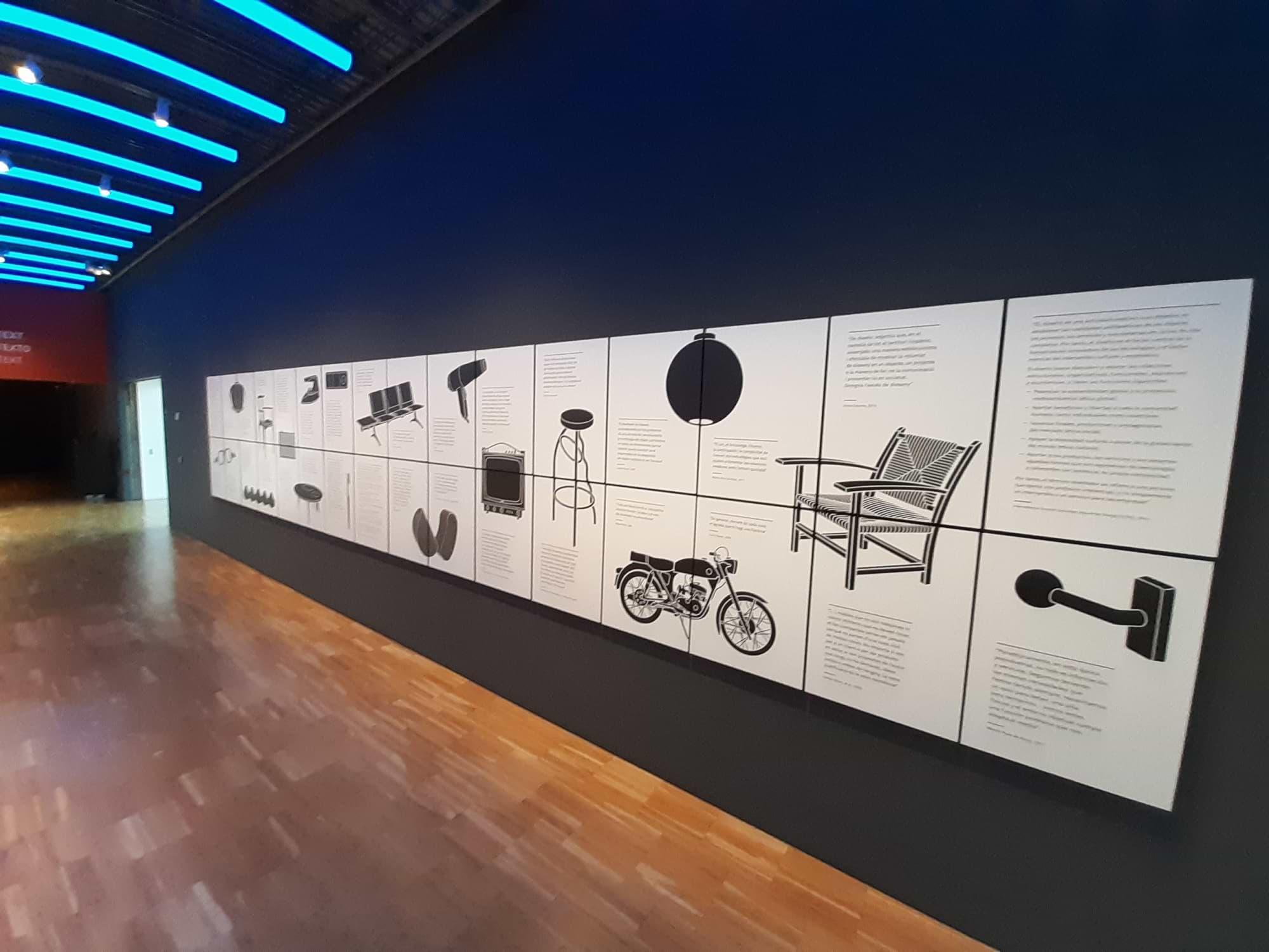 Illustration Design Produits Musée du Design de Barcelone
